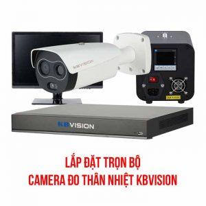 lắp đặt trọn bộ camera đo thân nhiệt KBvision