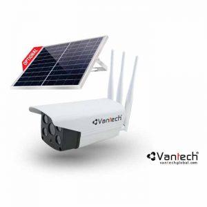 Camera AI Solar Wifi 6MP kết nối mạng 4G Vantech AI-V2034E