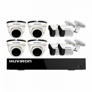 Bộ kit 8 camera IP Huviron F-KIT8