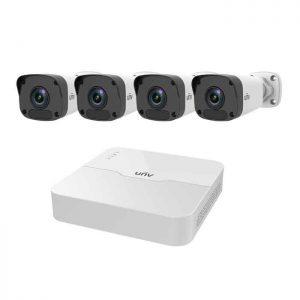 Bộ Kit 4 Camera IP 2MP UNV KIT/301-04LB-P4/4*2122LR3-PF40-E