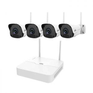 Bộ Kit 4 Camera Wifi 2MP UNV KIT/301-04LB-W/4*2122ER3-F40W-D
