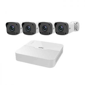 Bộ Kit 4 Camera IP UNV KIT/301-08LB-P8/4*2122LR3-PF40M-D