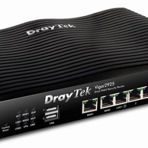 VPN, Firewall Dual-WAN Load balancing DrayTek Vigor2925