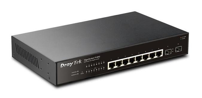Switch PoE DrayTek Vigor P1092